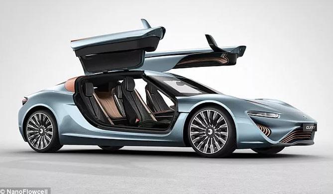 Dieses Auto wird mit Salzwasser angetrieben: 920PS, schafft 350km/h und hat EU-Zulassung