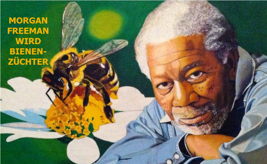 Morgan Freeman hat seine 124 Hektar grosse Ranch in ein Bienenreservat umgewandelt, um die Biene zu retten
