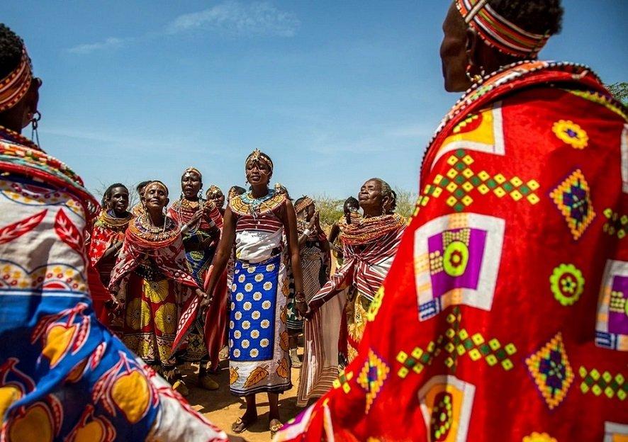 In Umoja regieren Frauen und lehren Gleichberechtigung