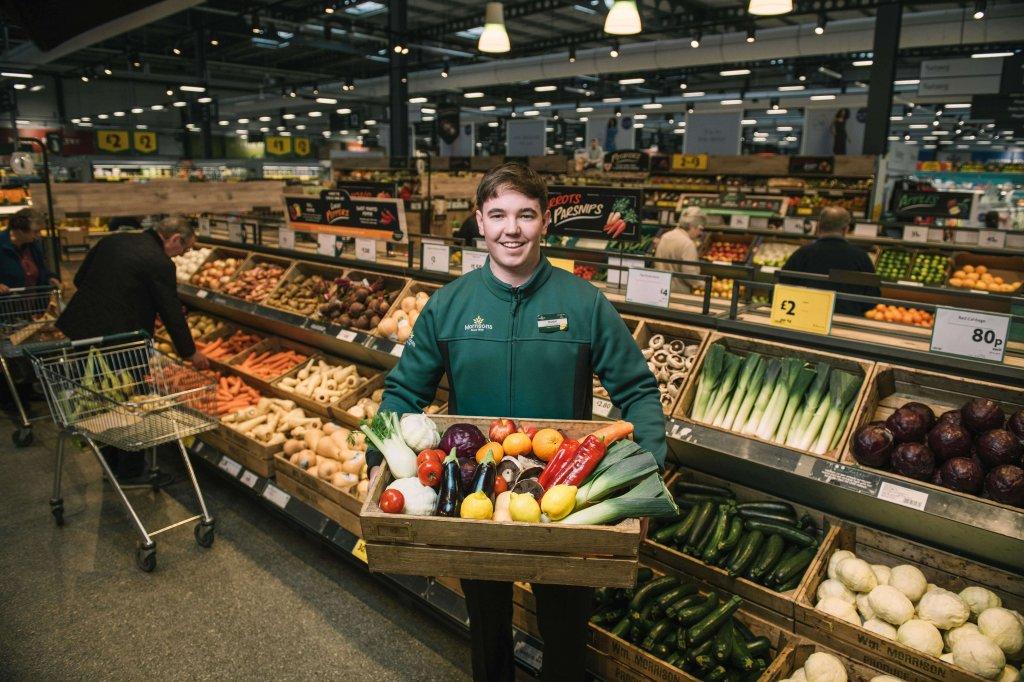Morrisons führt plastikfreie Gemüse- und Obstabteilung ein