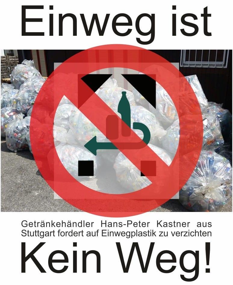 Stuttgarter Getränkehändler verbannt sämtliche Einwegplastikflaschen
