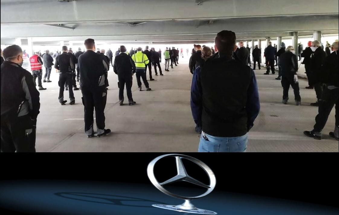 Vertragsbruch bei Daimler: bis 2025 sollen 4000 Menschen entlassen werden – IG-Metall streikt